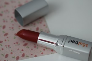 Soultree herbal lipstick - deep blush