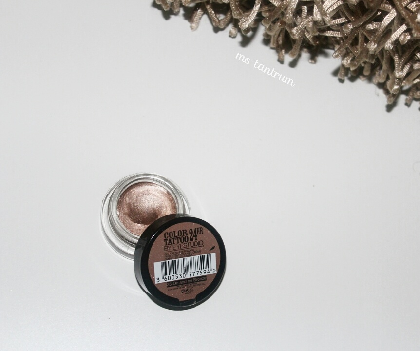 Maybelline color tattoo - On and on bronze