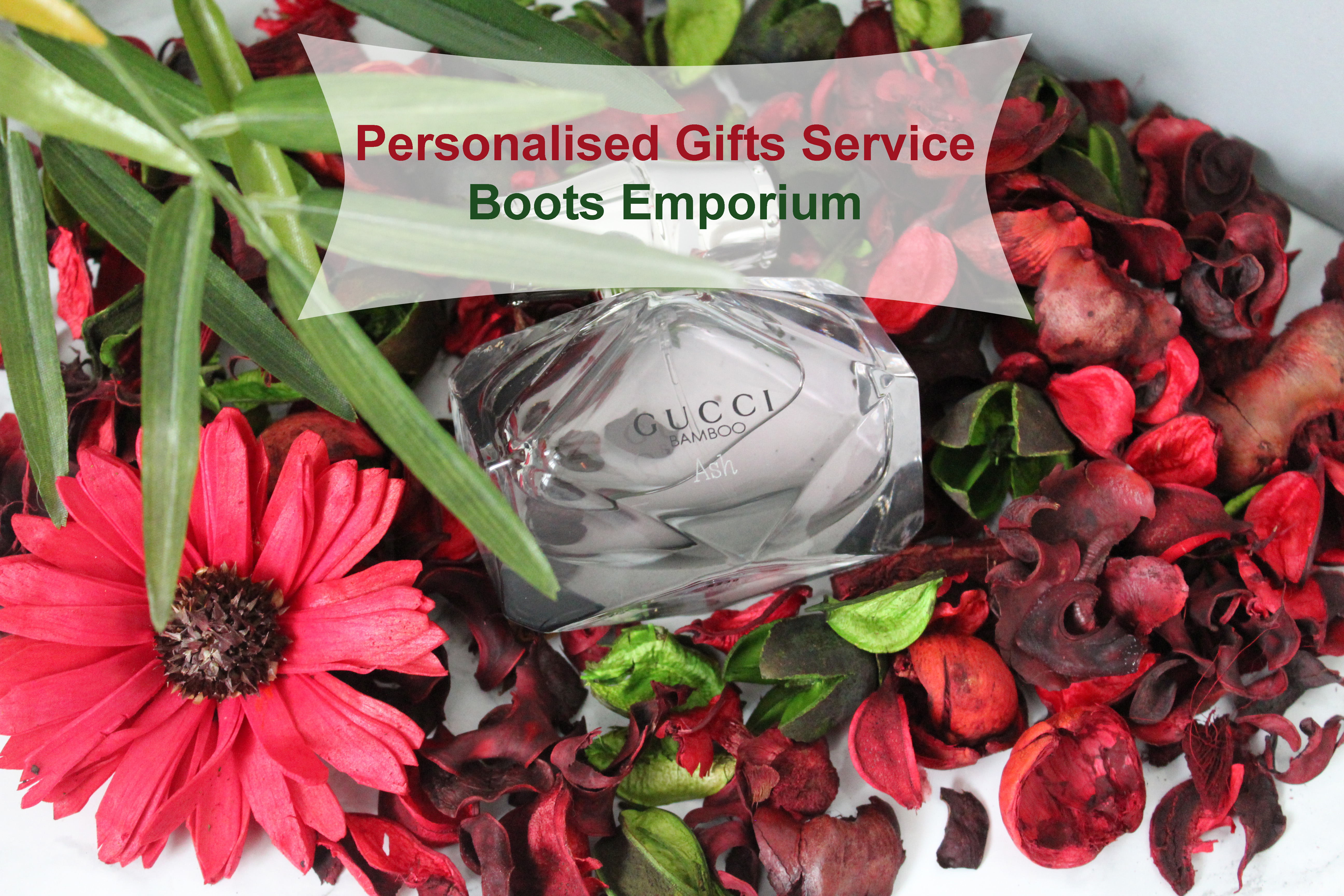 Personalised Gifts Service by Boots Emporium