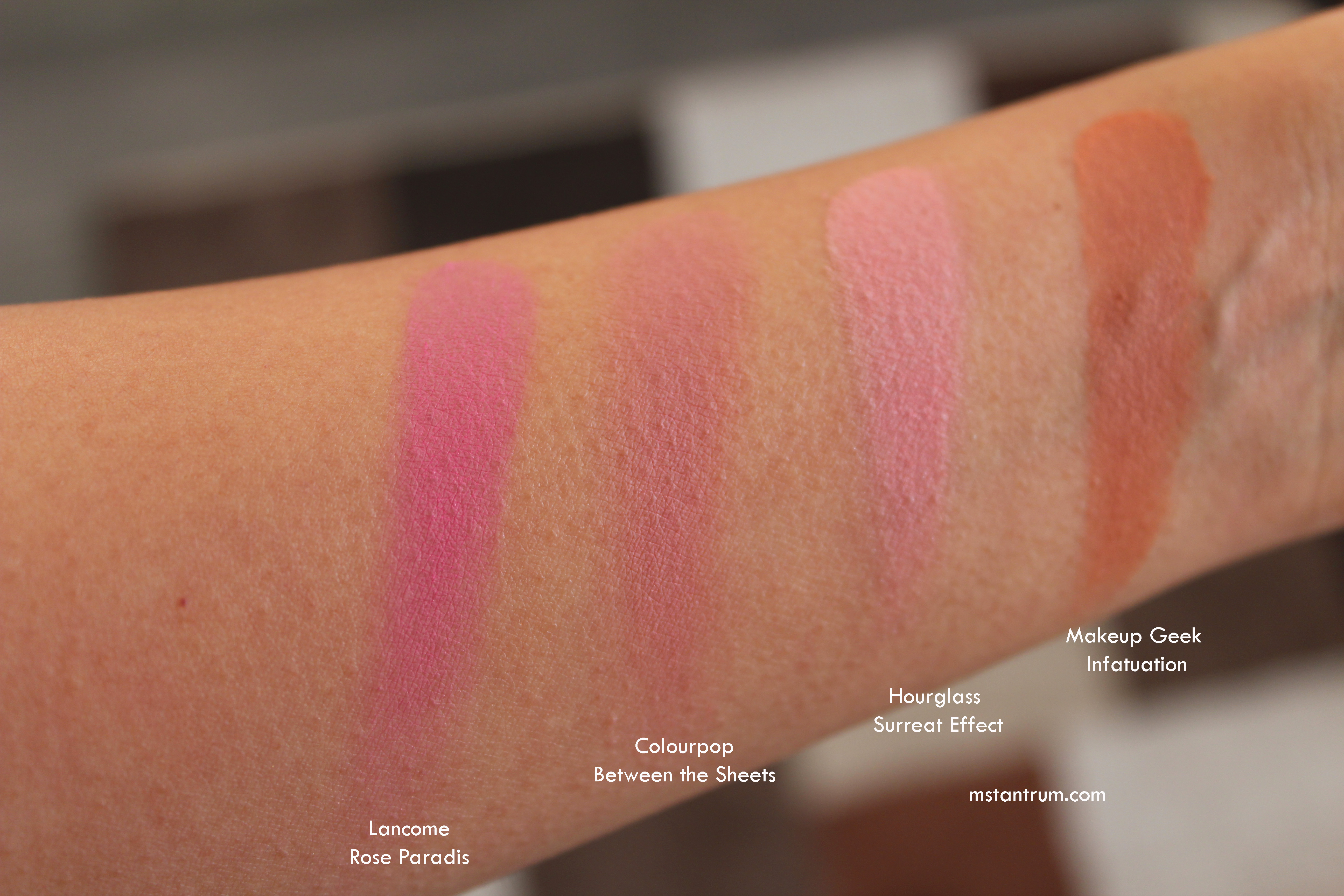 Autumn Winter blushes