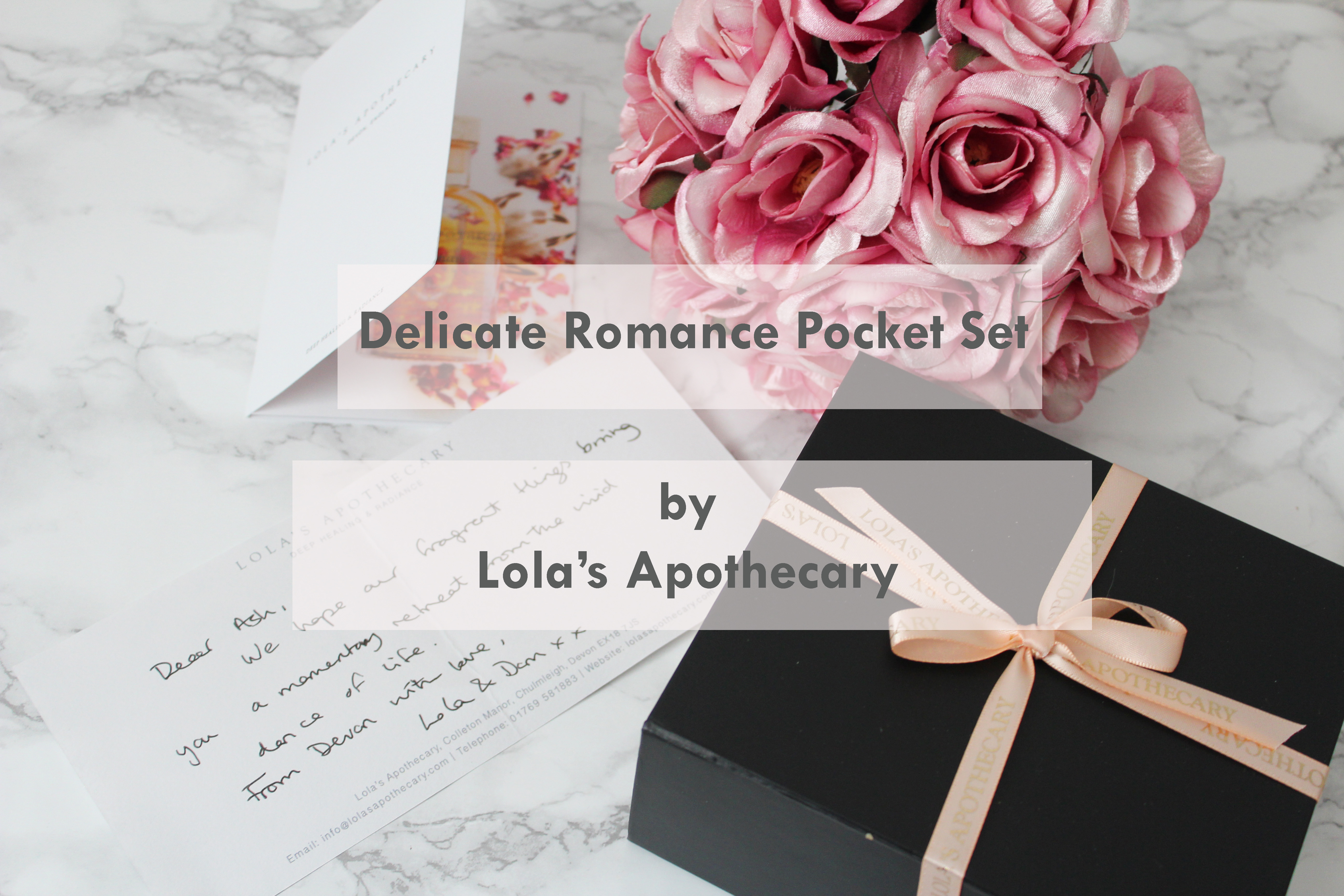 Delicate Romance Pocket set
