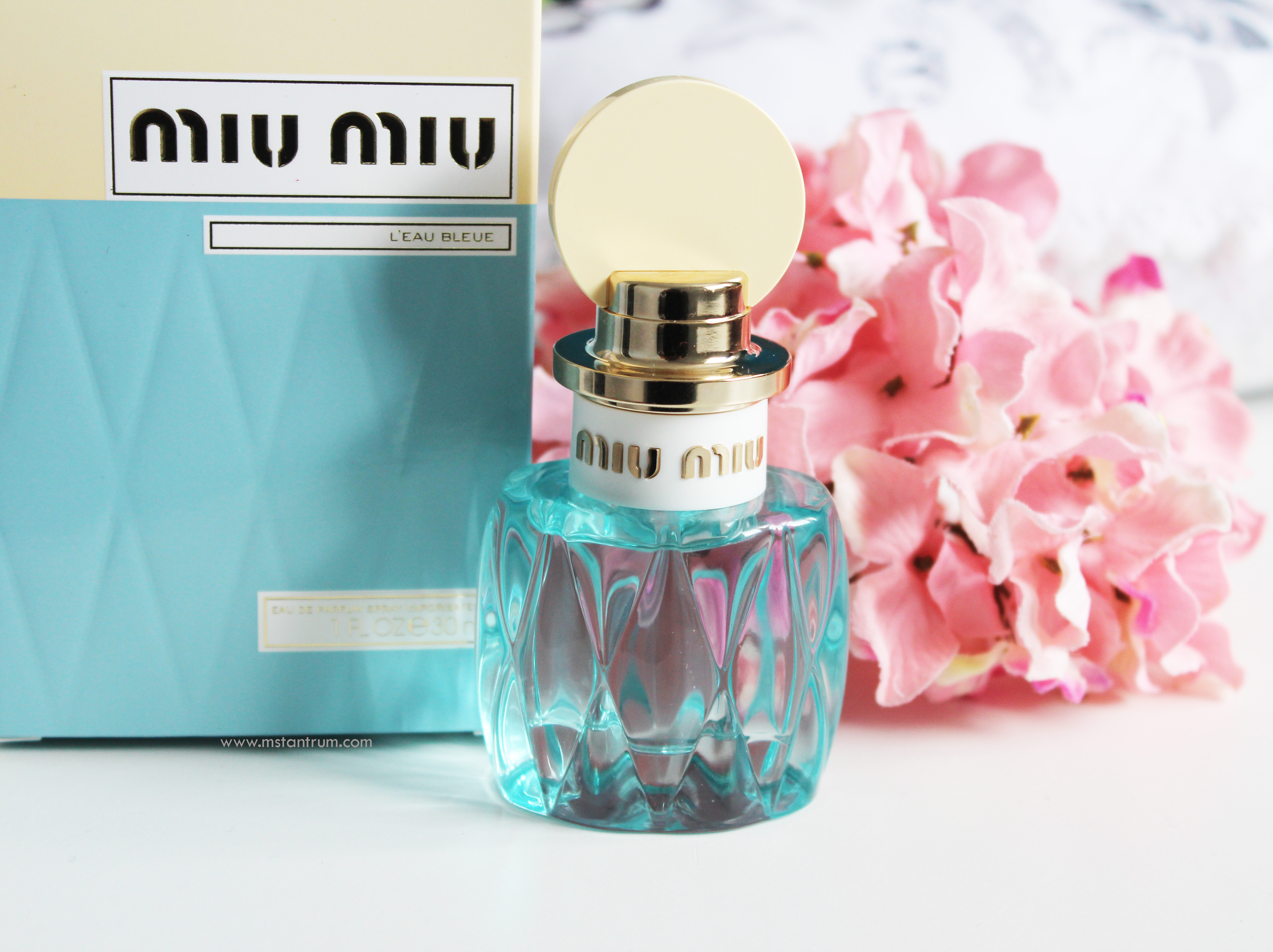 MIU MIU Fragrance packaging