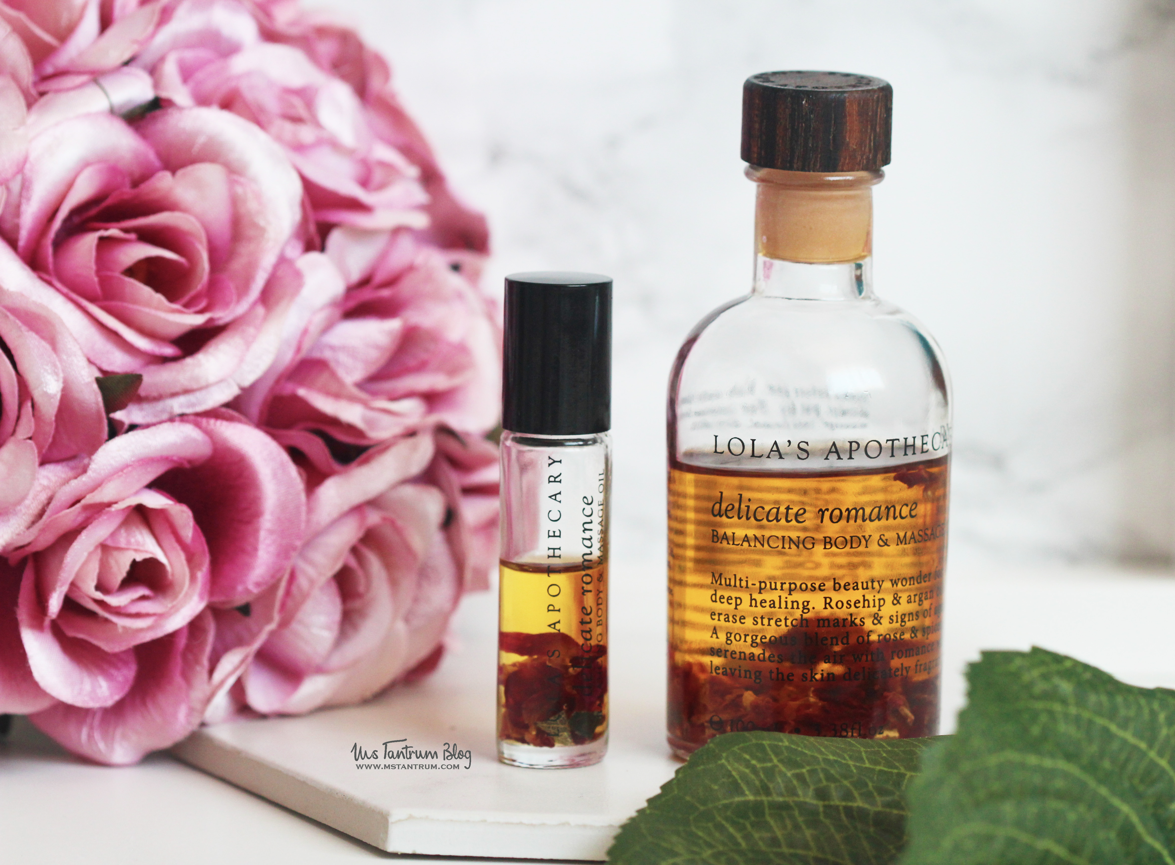 Lola's Apothecary Delicate Romance Oil review