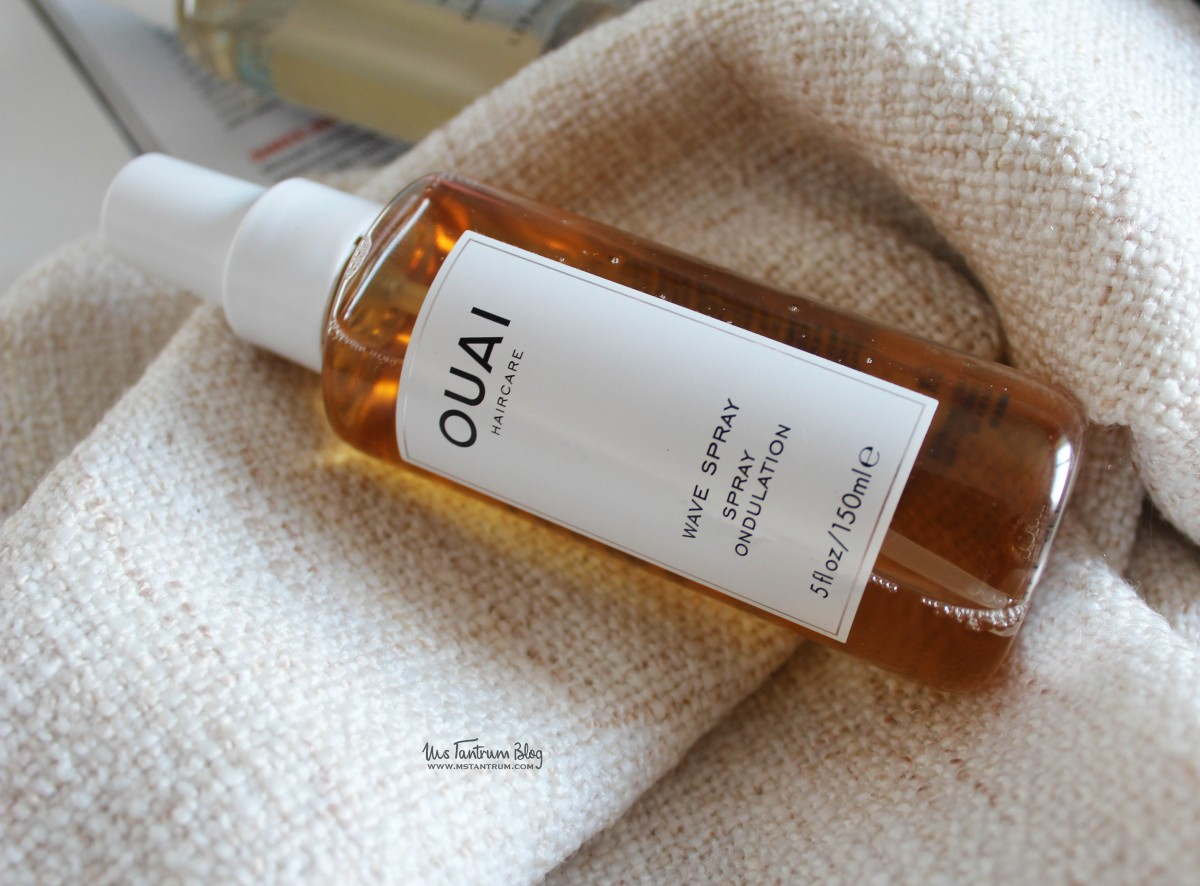 OUAI wave spray review