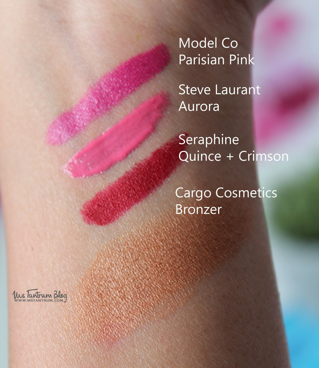 Lip Monthly JUne Swatches