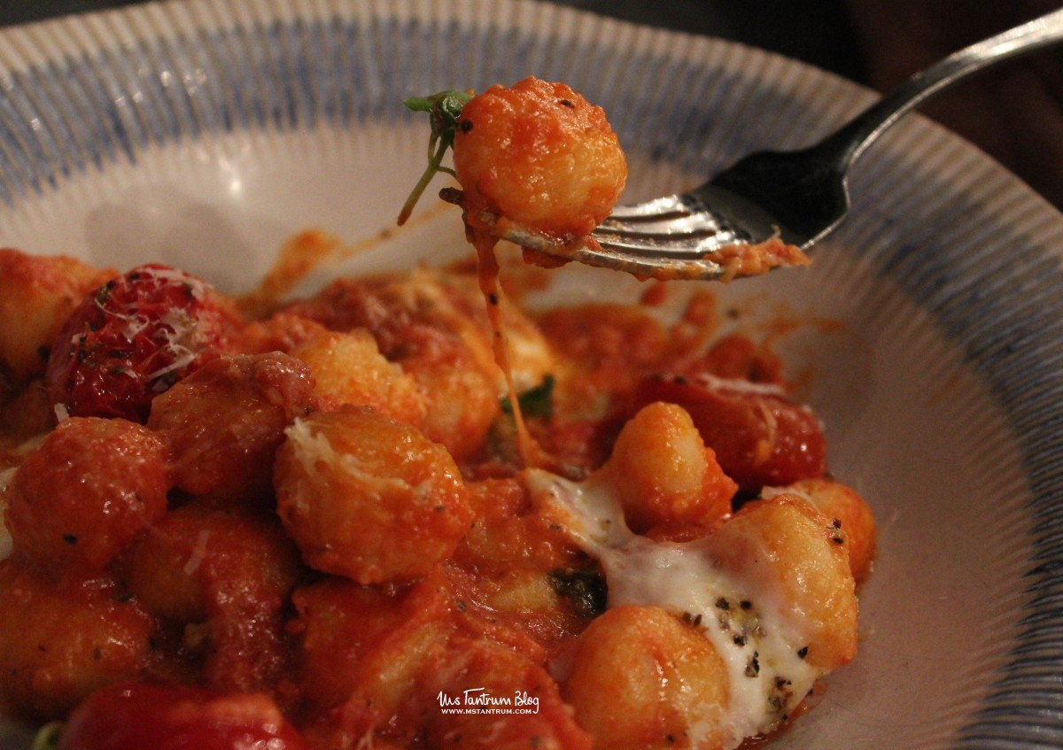 Gnocchi Sorrentina at Jamie's Italian