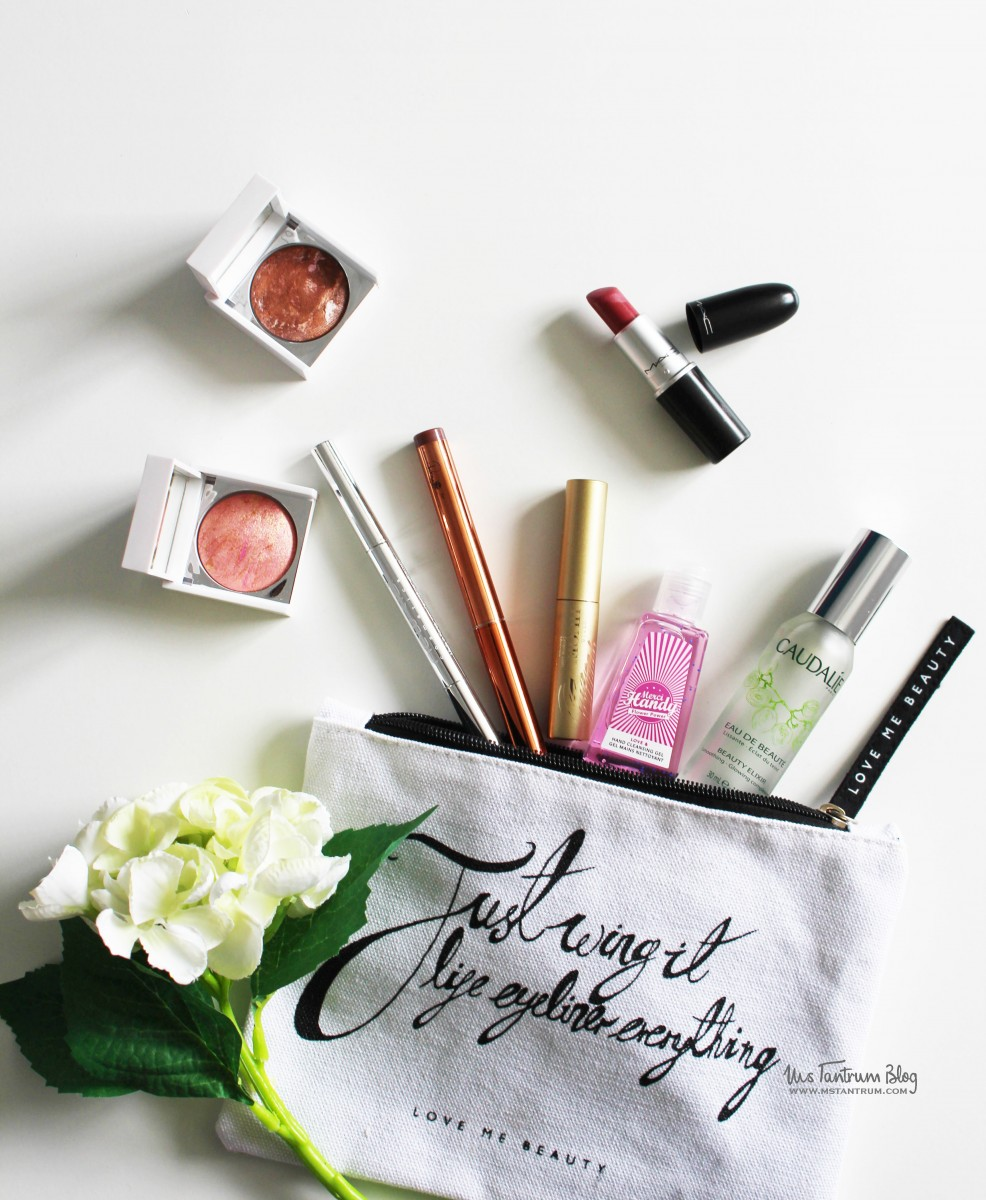 Whats in my makeup bag - Ms Tantrum Blog