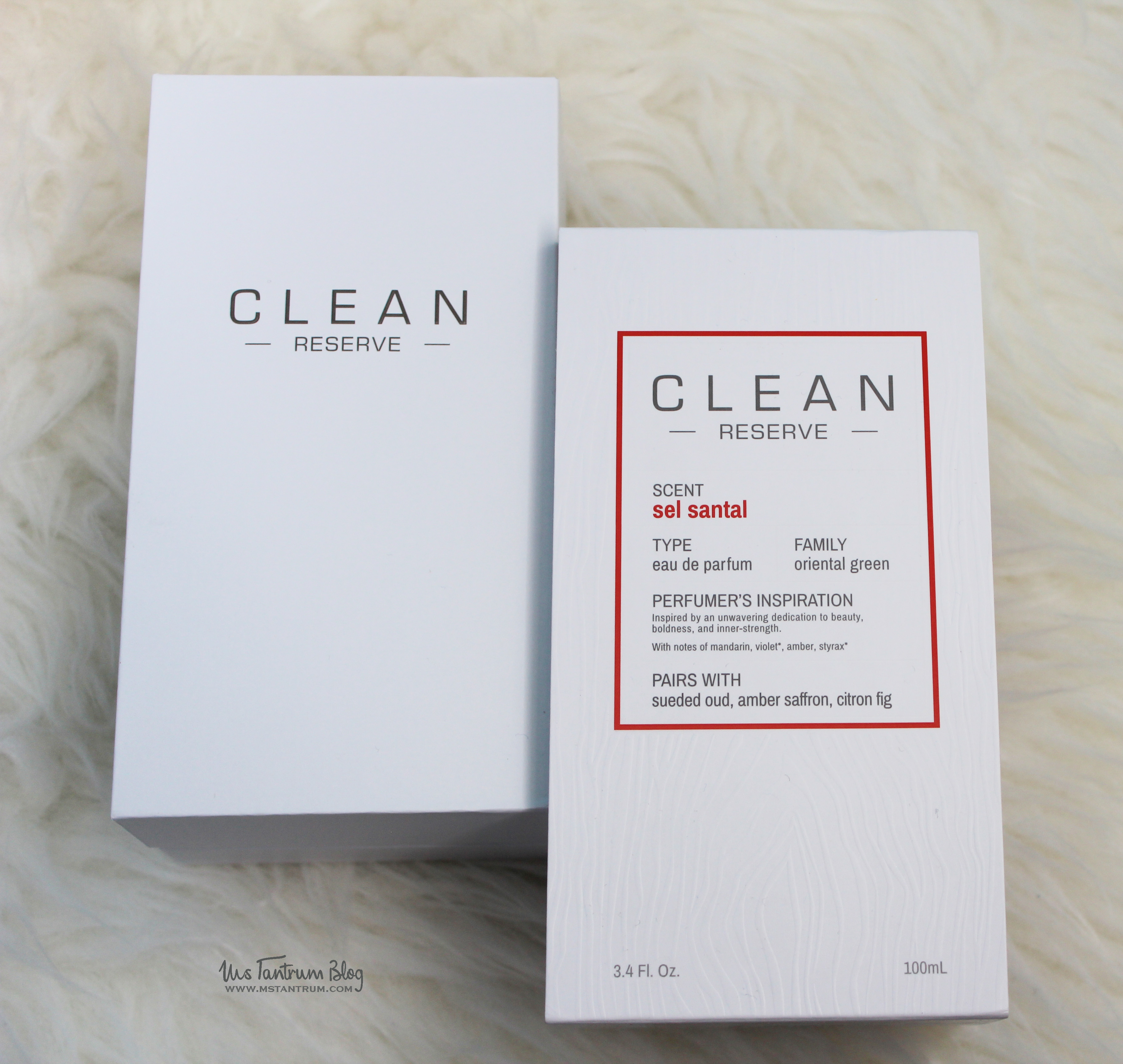 Clean Reserve fragrance review on Ms Tantrum Blog