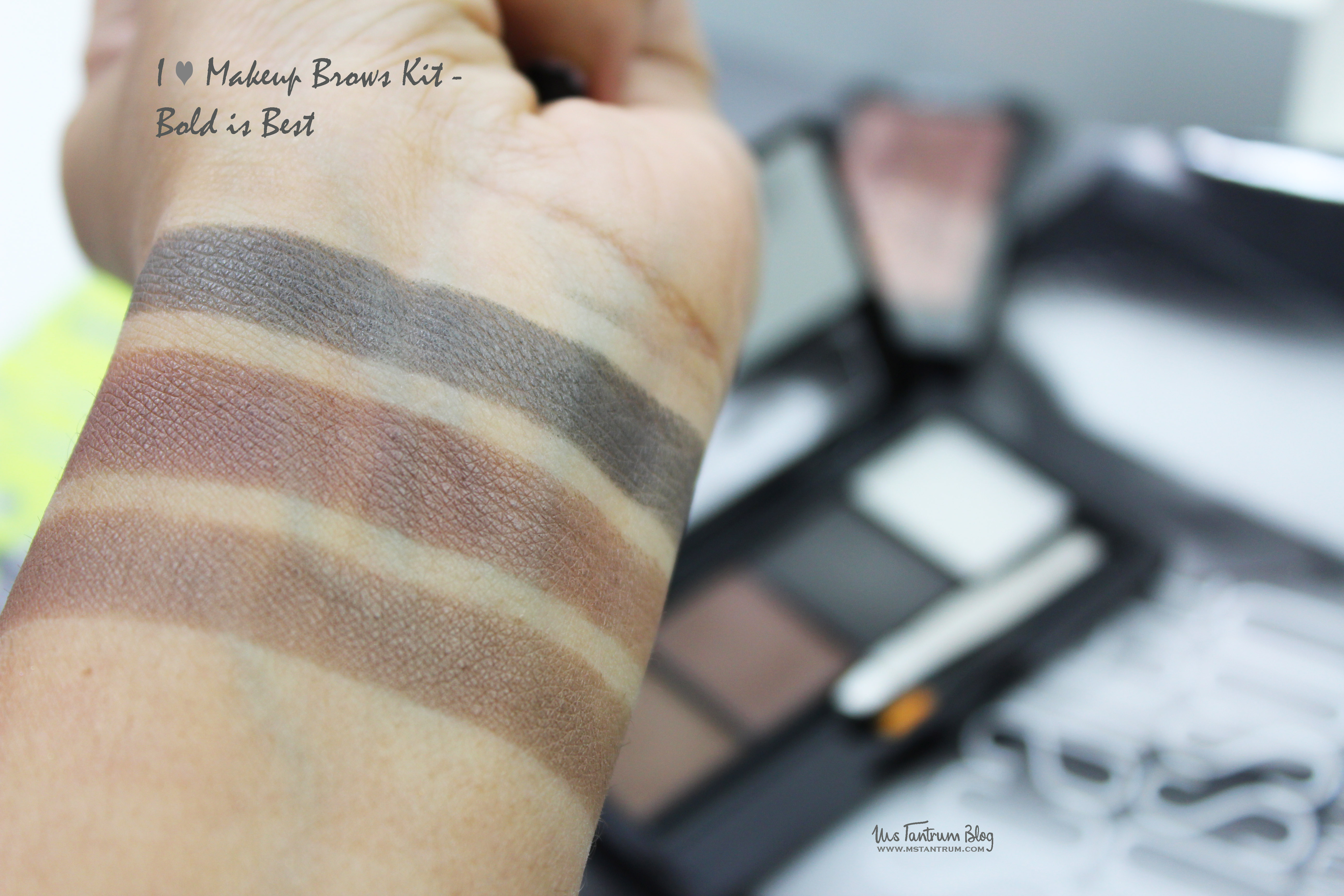 I <3 Makeup Brow Kit - Bold is Best