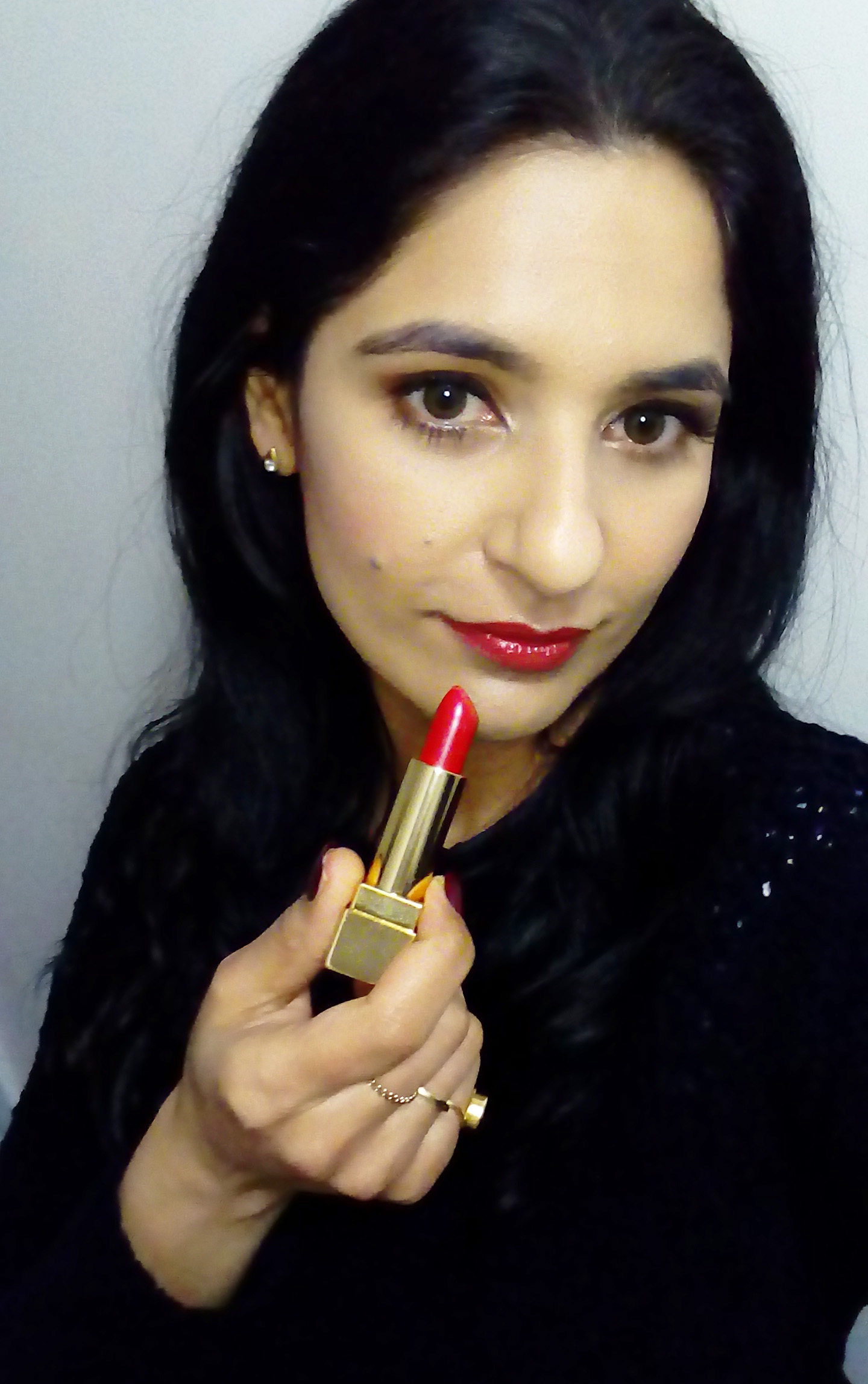 YSL Rouge Pur Couture - Rouge Roxane swatch