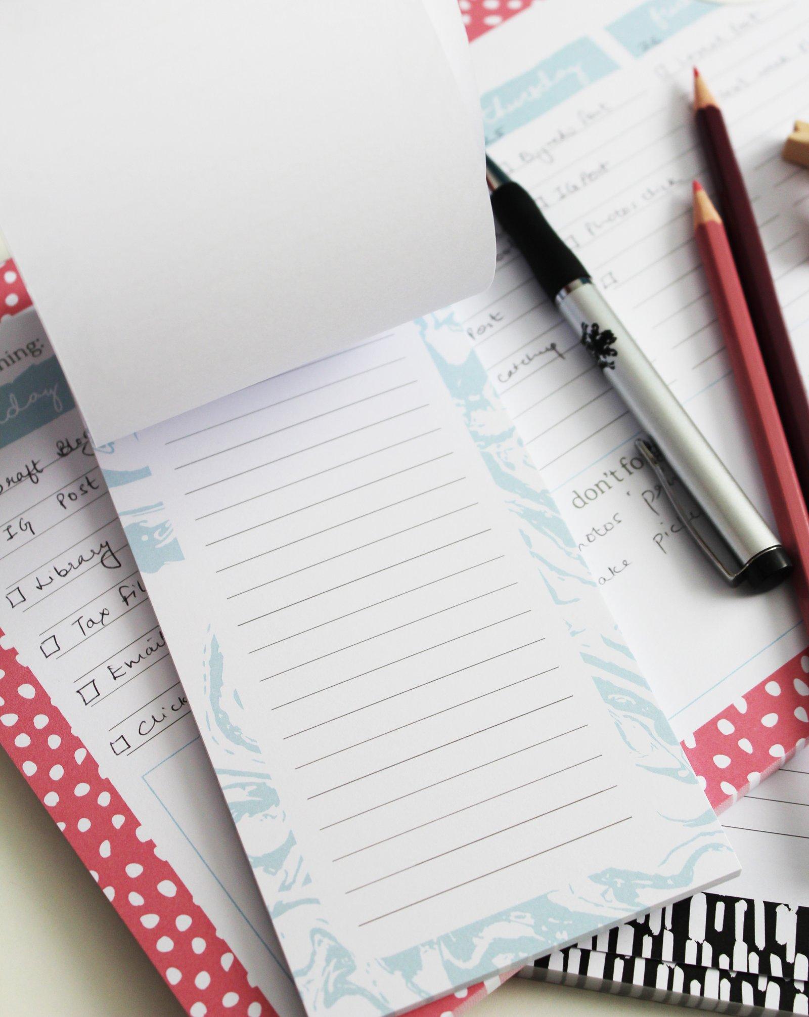 Blogger Desk Stationery - Ms Tantrum Blog