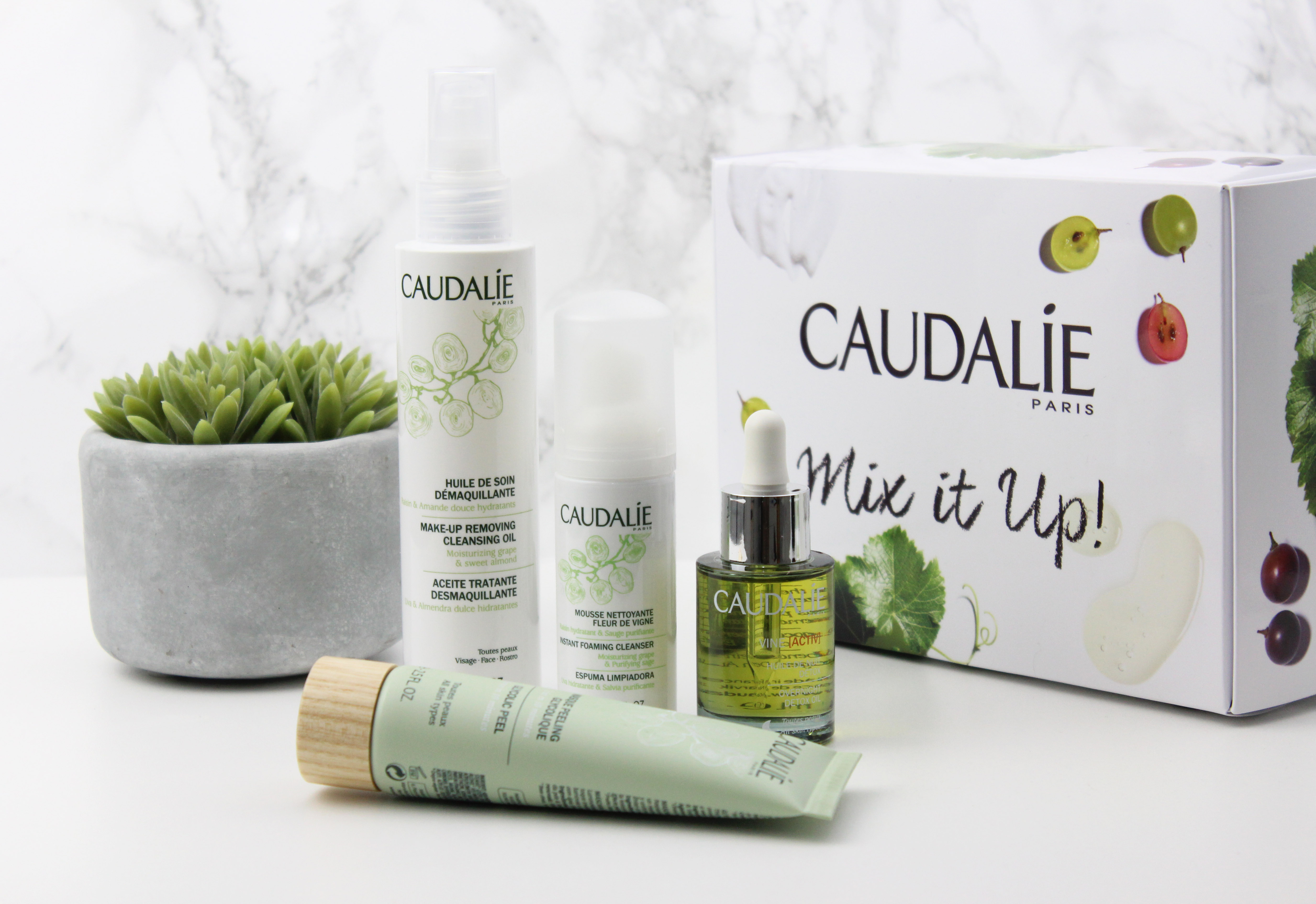 Caudalie Mix it Up Cleansing Routine
